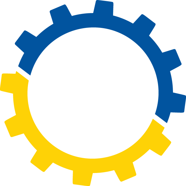 Image of the Delaware Advisory Council on Career and Technical Education (DACCTE) gear logo