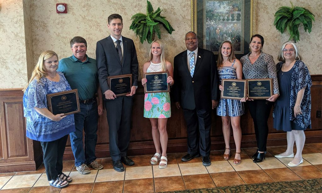 Group of recipients who won 2019 DACCTE Awards